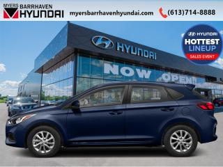 New 2020 Hyundai Accent Preferred IVT  - Aluminum Wheels - $73.62 /Wk for sale in Nepean, ON