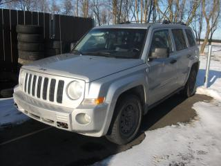 Used 2007 Jeep Patriot 4x4 for sale in St-Sulpice, QC