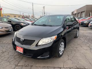Used 2010 Toyota Corolla CE for sale in Hamilton, ON
