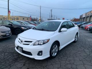 Used 2011 Toyota Corolla S for sale in Hamilton, ON