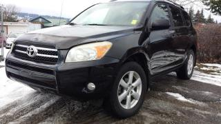 Used 2006 Toyota RAV4 Limited I4 4WD for sale in West Kelowna, BC