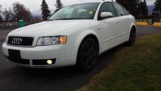 Used 2005 Audi A4 1.8T for sale in West Kelowna, BC