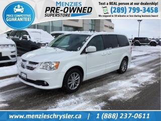 Used 2015 Dodge Grand Caravan SXT Premium Plus, Leather, Bluetooth for sale in Whitby, ON