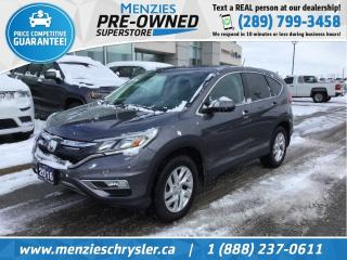 Used 2016 Honda CR-V EX AWD, Sunroof, Bluetooth, Cam for sale in Whitby, ON