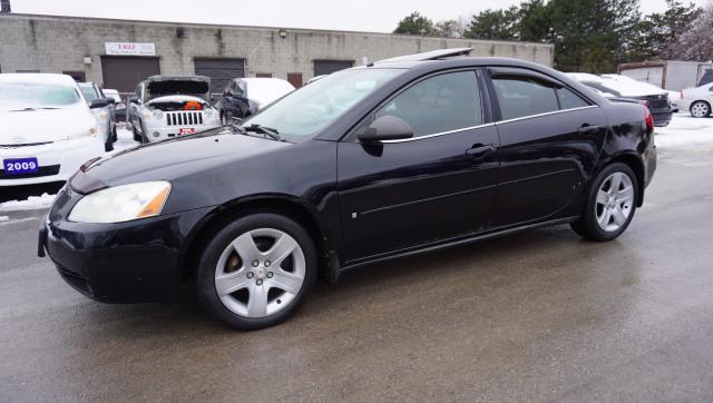 2007 Pontiac G6 SE 2.4L AUTO CERTIFIED 2YR WARRANTY *FREE ACCIDENT* SUNROOF CRUISE ALLOYS
