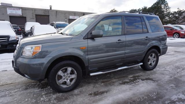 2008 Honda Pilot EX-L 4WD DVD CERTIFIED 2YR WARRANTY *1 OWNER*8 PSSNGRS* SUNROOF CRUISE HEATED SEATS