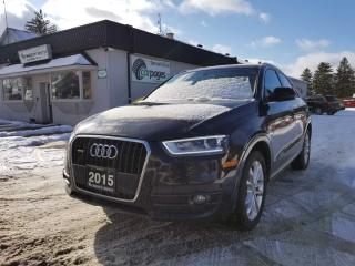 Used 2015 Audi Q3 Prestige Quattro for sale in Bloomingdale, ON