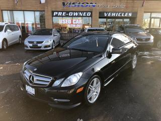 Used 2013 Mercedes-Benz E-Class 2dr Cpe E 350 4MATIC-NAVI-CLEAN CARFAX for sale in North York, ON