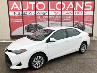 Used 2018 Toyota Corolla LE-ALL CREDIT ACCEPTED for sale in Scarborough, ON