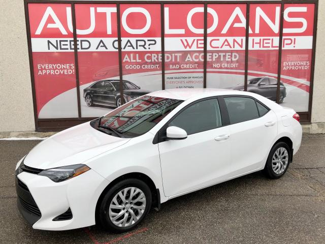 2018 Toyota Corolla LE-ALL CREDIT ACCEPTED