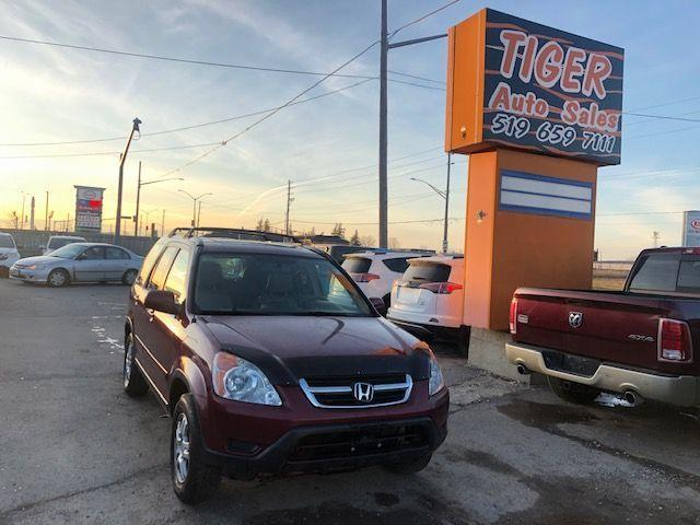 2004 Honda CR-V EX-L**LEATHER**SUNROOF**LOADED*AS IS SPECIAL