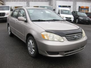 Used 2003 Toyota Corolla LE 1.8L 4cyl Auto AC PL PM PW Cruise for sale in Ottawa, ON