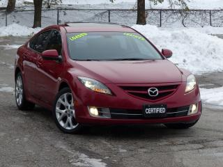 Used 2010 Mazda MAZDA6 LEATHER,BLIND SPOT DETECTION,GT,LOADED,NO-ACCIDENT for sale in Mississauga, ON