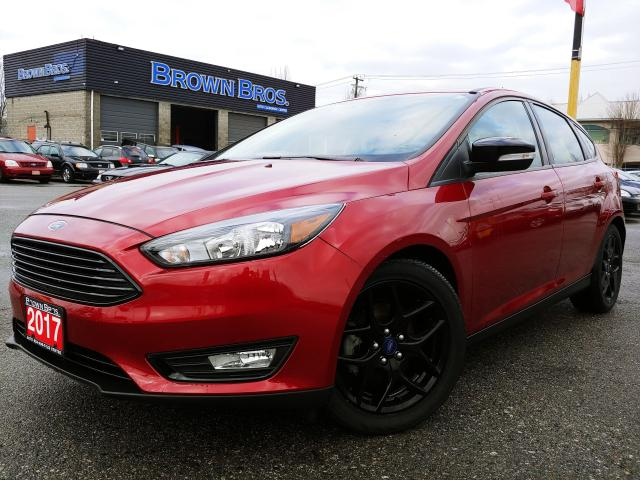 2017 Ford Focus SEL, LOCAL, NO ACCIDENT 1 OWNER, LOW KM