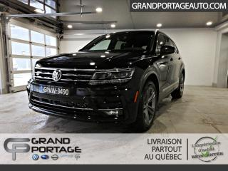 Used 2019 Volkswagen Tiguan Highline 4MOTION Ensemble R-Line for sale in Rivière-Du-Loup, QC