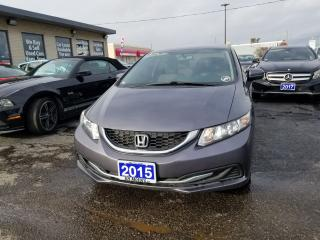 Used 2015 Honda Civic LX AUTOMATIC AIR CONDITION LOADED for sale in Brampton, ON