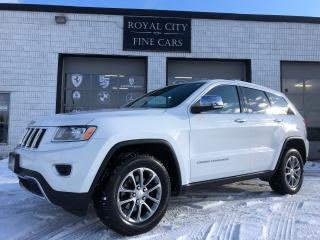 Used 2014 Jeep Grand Cherokee Limited Loaded Sunroof Nav No Accidents for sale in Guelph, ON