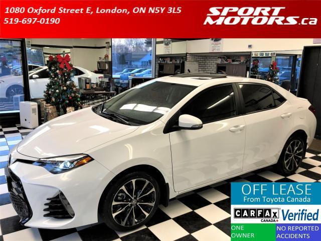 2017 Toyota Corolla XSE+Leather+GPS+Sunroof+Heated Seats+New Tires