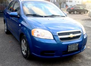 Used 2008 Chevrolet Aveo LS 4-Door for sale in St. Catharines, ON
