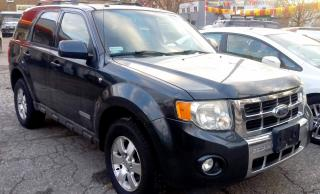 Used 2008 Ford Escape LIMITED 4WD for sale in St. Catharines, ON