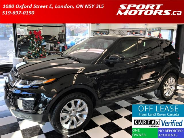 2017 Land Rover Range Rover Evoque SE Premium+GPS+Pano Roof+Xenons+Gesture Liftgate