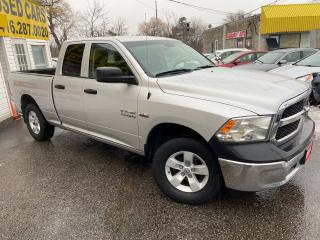Used 2014 RAM 1500 ST/ QUAD CAB/ 4X4/ 6 SEATER/ ALLOYS/ PWR GROUP! for sale in Scarborough, ON