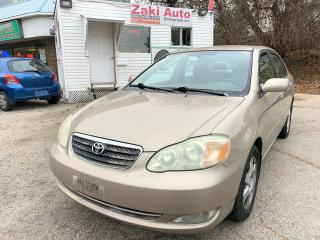 Used 2007 Toyota Corolla Corolla LE1 Owner/Safety included Asking price for sale in Toronto, ON