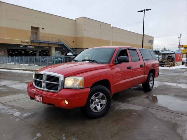2007 Dodge Dakota Auto, 4 door, 3/Y Warranty available.
