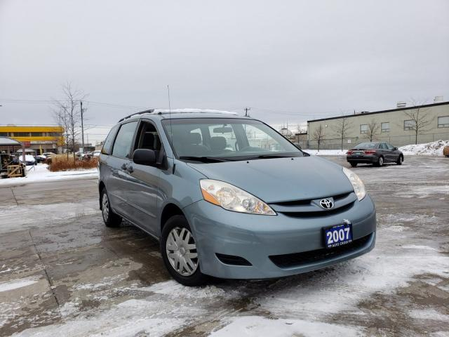 2007 Toyota Sienna 7 Pass,Low km, Auto, 3/Y warranty available.