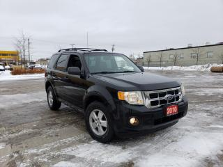 Used 2010 Ford Escape XLT, Leather,roof, Auto,3/Y warranty available for sale in Toronto, ON