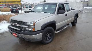 Used 2005 Chevrolet Silverado 1500 Z 71, 4X4, 4 Door, 3/Y Warranty available. for sale in Toronto, ON