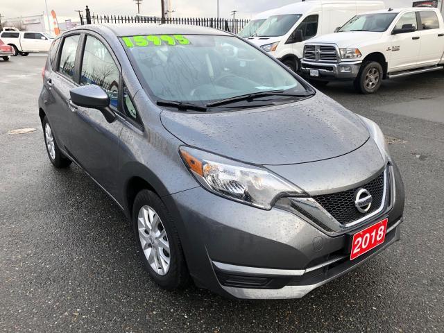 2018 Nissan Versa Note SV  1.6L CVT AUTO