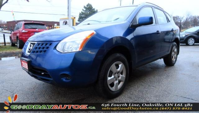 2008 Nissan Rogue S|LOW KM|NO ACCIDENT|AWD|EXT. 6 MNT WARRANTY|CERT.