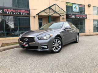 Used 2015 Infiniti Q50 **NAVIGATION**360 CAMERA** for sale in North York, ON
