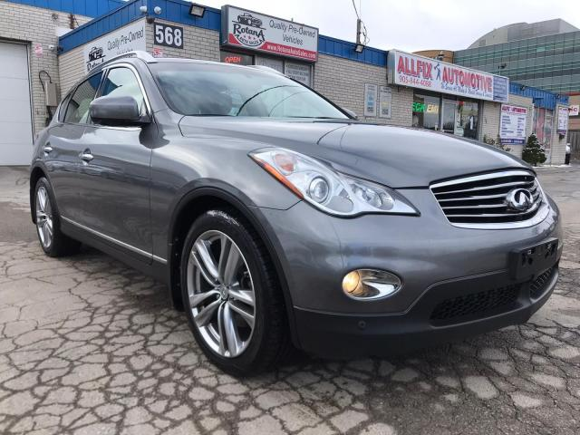 2012 Infiniti EX35 Navi_360 Cam_Leather _Sunroof