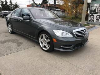 Used 2011 Mercedes-Benz S450 4MATIC DRIVE ASSIST,N/VIS,SAFETY+3YEARS WARRANTY INCLUDED for sale in Toronto, ON