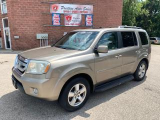 Used 2011 Honda Pilot EX-L/4WD/8 SEATS/ONE OWNER/NO ACCIDENT/CERTIFIED for sale in Cambridge, ON