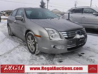 Used 2008 Ford Fusion SEL 4D Sedan for sale in Calgary, AB