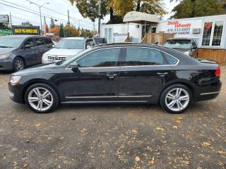Used 2012 Volkswagen Passat 2.5L Auto Highline BLACK ON BLACK for sale in Scarborough, ON