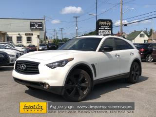 Used 2015 Infiniti QX70 Sport AWD NAV ROOF CLIMATE SEATS 360 C for sale in Ottawa, ON