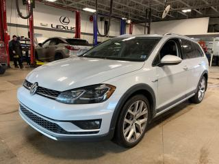 Used 2018 Volkswagen Golf Alltrack 1.8 TSI LEATHER  ROOF  NAVI  FENDER  BACKUP CAMERA for sale in Ottawa, ON