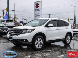 Used 2012 Honda CR-V EX AWD ~Heated Seats ~Power Moonroof ~Fog Lamps for sale in Barrie, ON