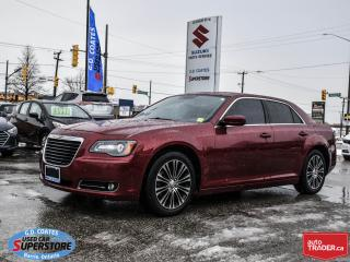 Used 2012 Chrysler 300 S AWD ~Nav ~Heated Leather ~Panoramic Moonroof for sale in Barrie, ON