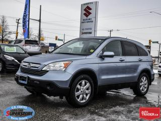 Used 2008 Honda CR-V EX-L AWD ~Heated Leather ~Moonroof ~ONLY 96,000 KM for sale in Barrie, ON