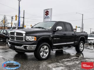 Used 2005 Dodge Ram 1500 Laramie Quad Cab 4x4 ~5.7L HEMI ~ONLY 117,000 KM! for sale in Barrie, ON
