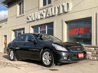 Used 2010 Infiniti G37 X 4dr x for sale in Hamilton, ON