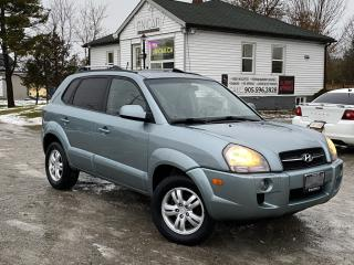 Used 2007 Hyundai Tucson No-Accidents LOW KMS 4WD V6 Leather Sunroof HTD Seats for sale in Sutton, ON