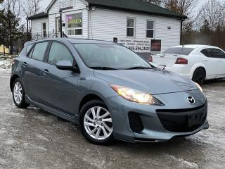 Used 2012 Mazda MAZDA3 1-Owner No-Accidents GS Sunroof Bluetooth HTD Seats for sale in Sutton, ON