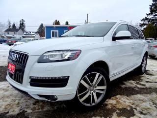 Used 2013 Audi Q7 3.0T Premium | NAVI | SURROUND VIEW CAMERA'S | PANO ROOF | CERTIFIED for sale in Guelph, ON
