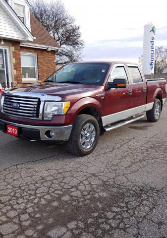 """2010 Ford F150 XLT XTR 157"""" WB XLT XTR 157"""" WD save half the GST. Limited time offer. Call or come in today."""